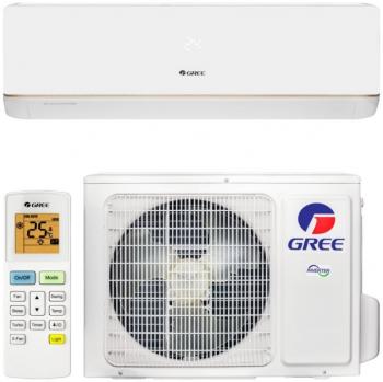 Кондиціонер GWH18AAD-K3DNA5E (Wi-Fi) Bora-inverter працює на обігрів до -15°C.